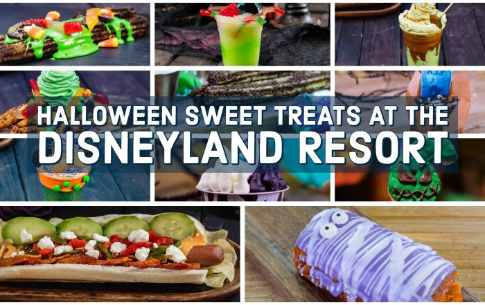 Halloween Sweet Treats at the Disneyland Resort