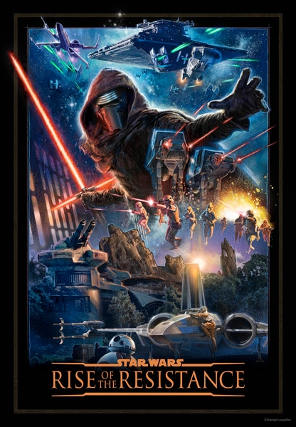 Star Wars: Rise of the Resistance Poster