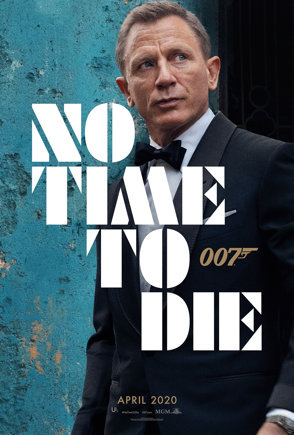 James Bond: No Time to Die Poster