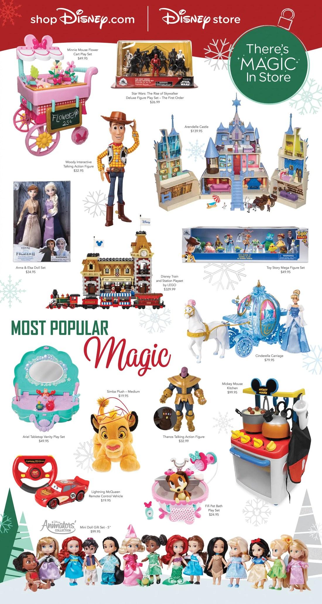 shopDisney.com | Disney Store Holiday Toys