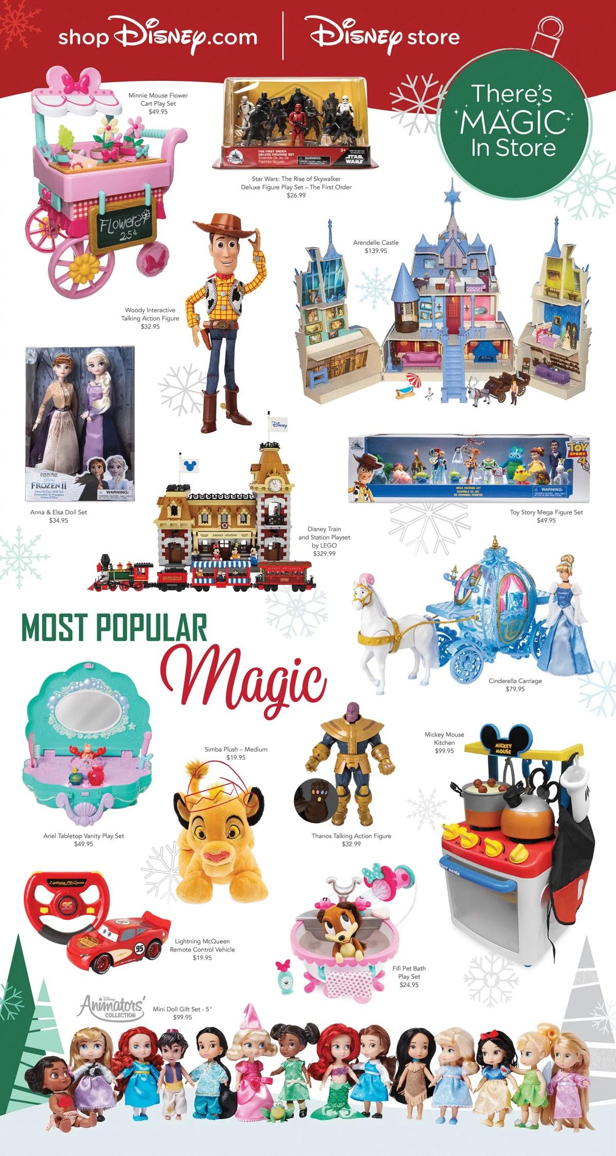 shopDisney.com   Disney Store Holiday Toys