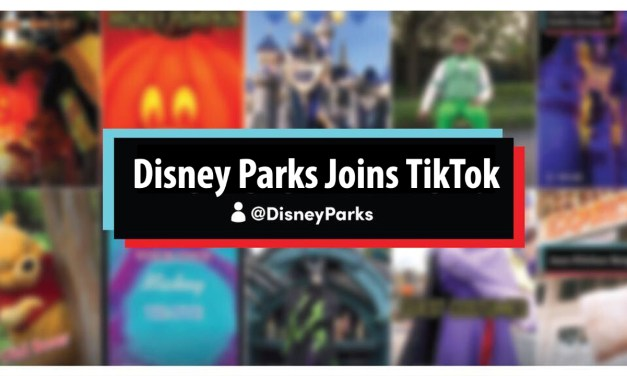 Disney Parks Joins TikTok