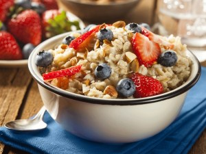 Resep Simple Oats Instan milk with fruit