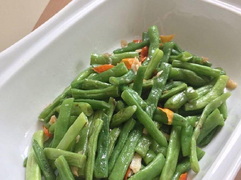 resep tumis buncis bawang putih untuk makan malam