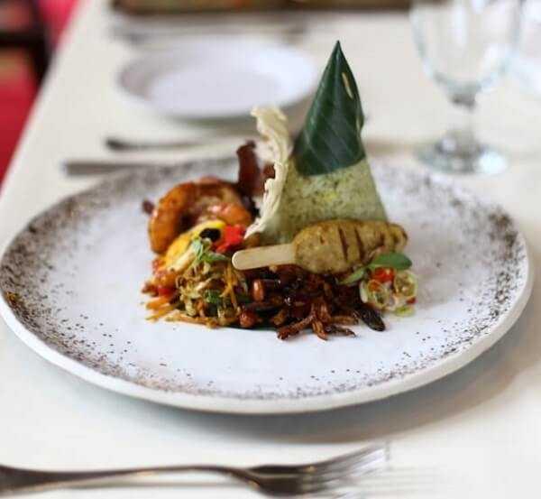 Nasi Priyai hidangan tradisional Indonesia