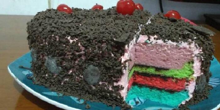 Resep Kue Steamed Rainbow Untuk Ulang Tahun