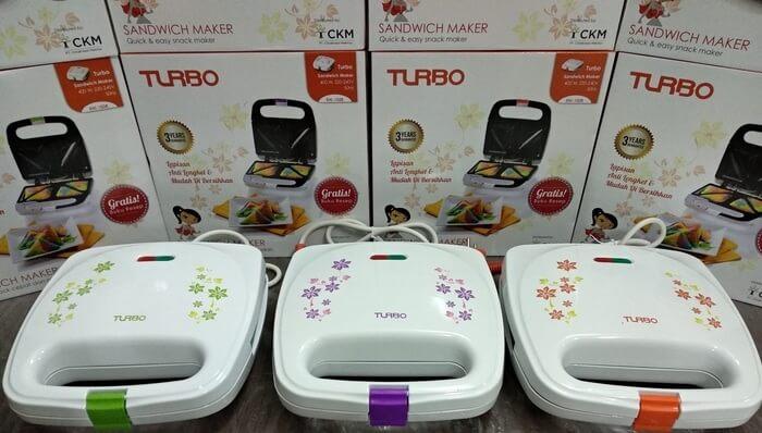 Turbo EHL-1028 Alat Pemanggang Sandwich