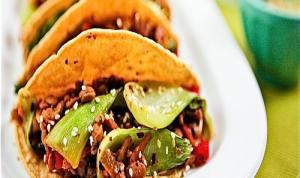 Tempe Tacos With Avocado-Kiwi Salsa