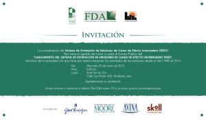 Invitacion Presentación SEEG Perú