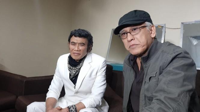 Rhoma Irama dan Iwan Fals (Foto: suara.com/jagodangdut)