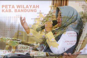 Hj Kurnia Agustina (Foto: Humas Pemkab Bandung)