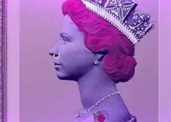 Lukisan Ratu Elizabeth II (Foto : detik.com/istimewa)