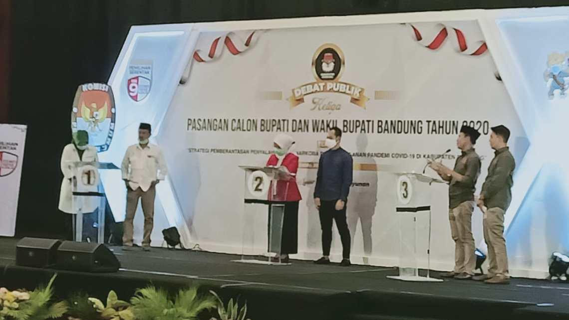 Debat Publik Pilkada Kabupaten Bandung (Foto: Istimewa)