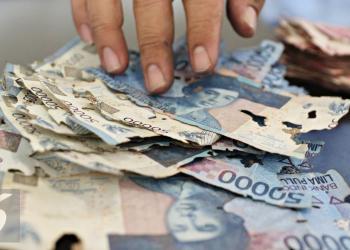 Ilustrasi uang rusak (Foto: Liputan6.com)
