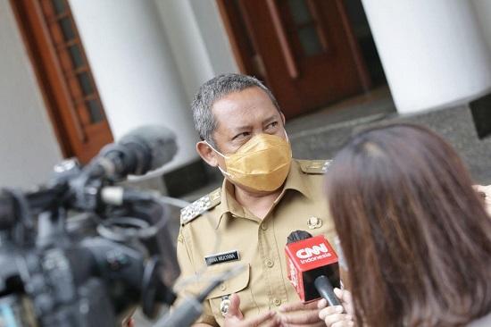 Wakil Ketua Tim Gugus Tugas Percepatan Penanganan Covid-19 Kota Bandung Yana Mulyana (Foto: Istimewa)
