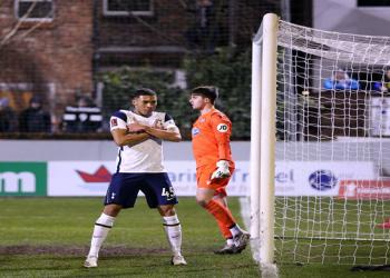 Selebrasi Vinicius usai mencetak gol(Foto:Football.London)