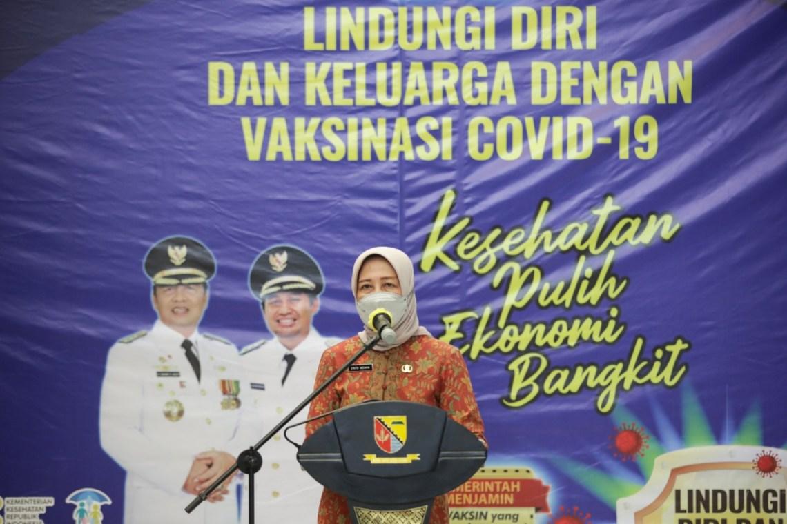 Kepala Dinas Kesehatan Kabupaten Bandung Grace Mediana Purnami (Foto: verawati/dara.co.id)