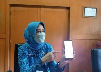 Kepala Dinas Kesehatan Kabupaten Bandung, Grace Mediana Purnami (Foto: Verawati/dara.co.id)
