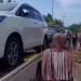 Warga Tuban borong mobil bersamaan (Foto: tangkapan layar detikcom)