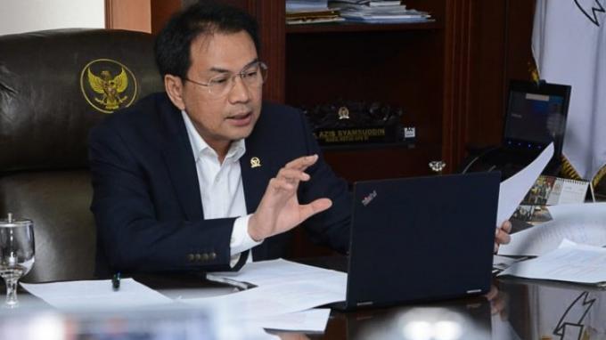 Wakil DPR RI, Azis Syamsuddin (Foto: Tribunnews.com)