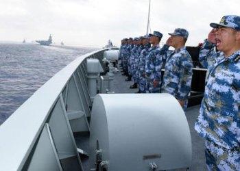 China semakin geram karena armada tempur Amerika terus bercokol di kawasan Laut Natuna Utara yang diklaim Negeri Tirai Bambu tersebut.(Foto : Minangkabaunews)