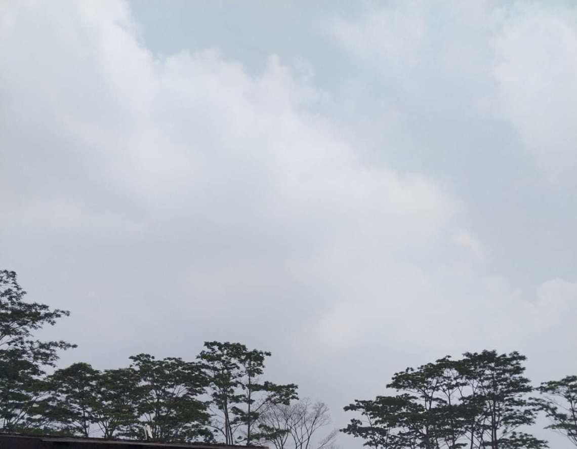 Ilustrasi langit Bandung (Foto: denkur/dara.co.id)