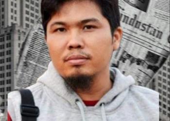 Ketua PWI Kabupaten Majalengka Jejep Falahul Alam