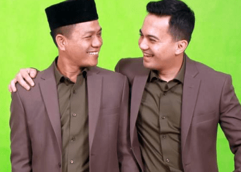Bupati Bandung Dadang Supriatna dan wakilnya, Sahrul Gunawan