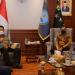 Keterangan foto:  Kepala BNN RI, Petrus Reinhard Golose menerima kunjungan kerja Kepala Bareskrim Polri Agus Andrianto di Kantor BNN, Jakarta Timur. (sumber:BNN)