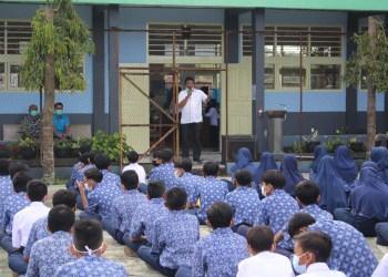 BNNK Ciamis Sosialisasi bahaya narkoba kepada pelajar (foto : Istimewa)