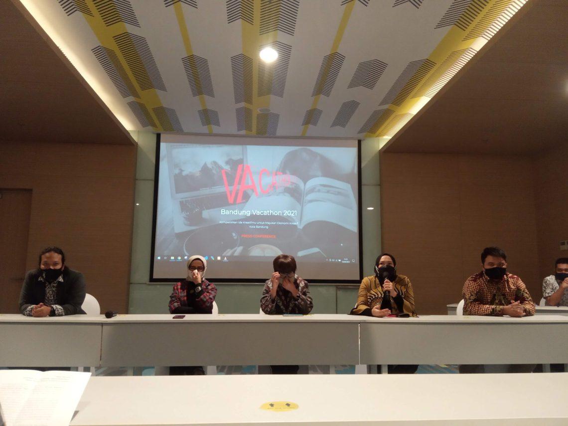 Press conference peluncuran web patrakomala (Foto: Istimewa)