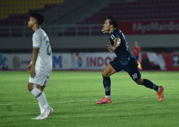 gol Ezra membawa Persib ke Final lawan Persija di Piala Menpora 2021. (Foto : persib.co.id)