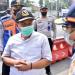 Komisi IV DPRD Provinsi Jawa Barat didampingi Dinas Pehubungan Jabar Saat Melakukan Peninjauan Lokasi Posko Random Rapid Test Arus Balik di Padalarang, Kabupaten Bandung Barat. Rabu, (19/05/2021) . Foto : (Farhat Mumtaz / Humas DPRD Jabar)