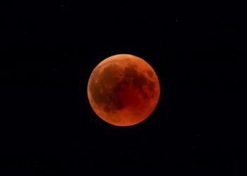 Ilustrasi gerhana bulan total. Gambar oleh Dmz dari Pixabay/galamedianews.com)