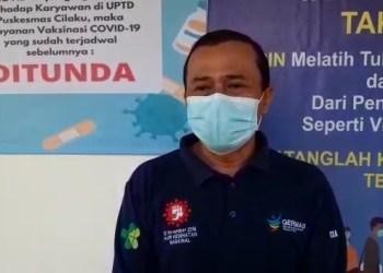 Kepala Puskesmas Cilaku Yudiansyah Sutawijaya (Foto: Purwanda/dara.co.id)