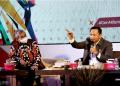 Dewan Perwakilan Rakyat Daerah (DPRD) Provinsi Jawa Barat gelar acara Parlemen Mengabdi Tahun 2021 dalam rangka Peringatan Hari Lahir bertempat di Grand Sunshine Hotel, Soreang, Kabupaten Bandung, Kamis, (17/6/2021). (Foto: Budi-Fahmi/Humas DPRD Jabar).