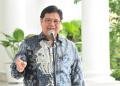 Ketua Umum Partai Golkar Airlangga Hartarto.(Foto:Dara/Setkab RI)