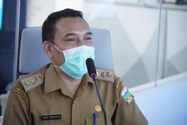 Kepala Bidang Pencegahan dan Penyakit (P2P) Dinas Kesehatan (Dinkes) Kabupaten Garut, Asep Surachman.