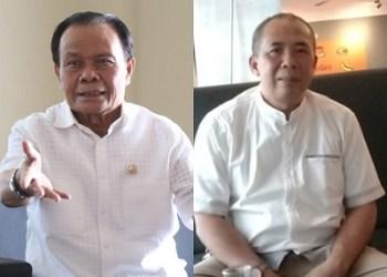 Yod Mintaraga dan Basuki Rahmat (foto : Nanang Yudi/dara.co.id)