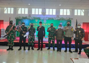 Keterangan gambar: Pembukaan BSMSS KBB tahun 2021, secara virtual di Lantai 3 Gedung Bupati Bandung Barat