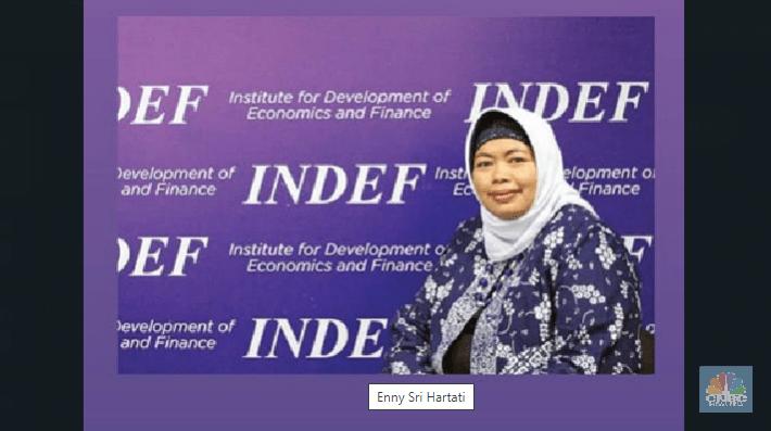 Enomon Indef, Enny Sri Hartati meninggal dunia (Foto: CNBC Indonesia)
