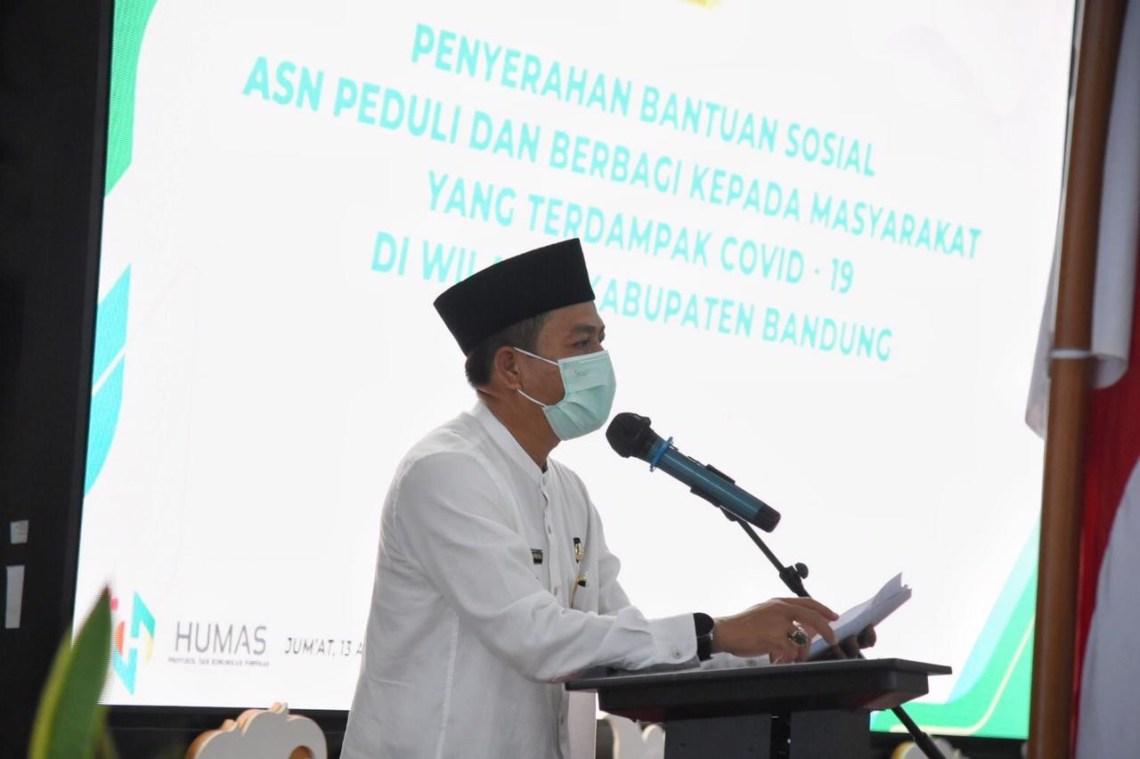 Bupati Bandung, H Dadang Supriatna