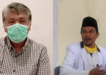 Kadinkes, dr. Uus Supangat dan Ketua Komisi IV DPRD Kota Tasikmalaya, Dede Muharam (foto : Nanang Yudi/dara.co.id)