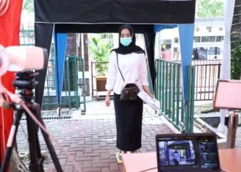 Peserta SKD CPNS Tahun 2021 (Foto: Humas Kementerian PANRB)