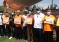 Partai Keadilan Sejahtera (PKS) luncurkan program gerakan One Demplote One Village, gerakan membeli produk petani dan launching Sekolah Tani, yang digelar di Desa Panundaan, Kecamatan Ciwidey, Kabupaten Bandung, Minggu (24/10/2021). (Foto: verawati/dara.co.id)