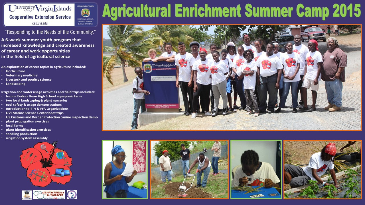About the Agricultural Enrichment Summer Camp