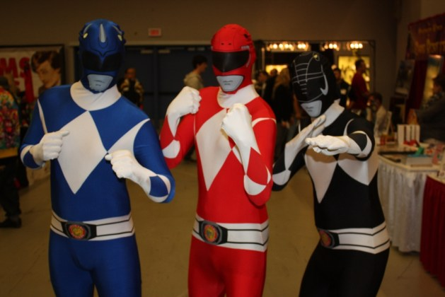 power rangers cosplay_pikawil