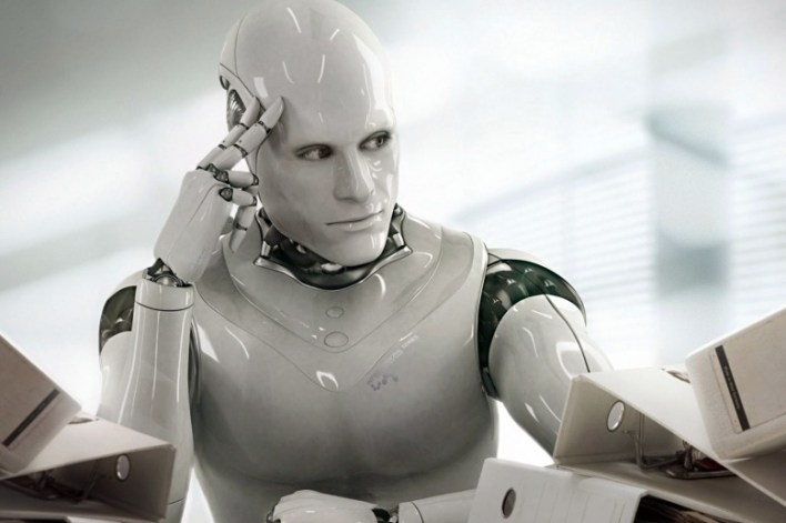 مقال كتبه روبوت لإقناع البشر أنه لا يسعى لايذائهم
