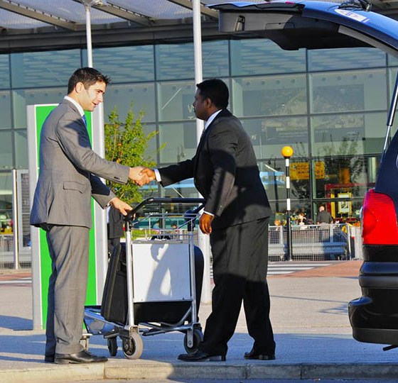 uber for airport taxi app