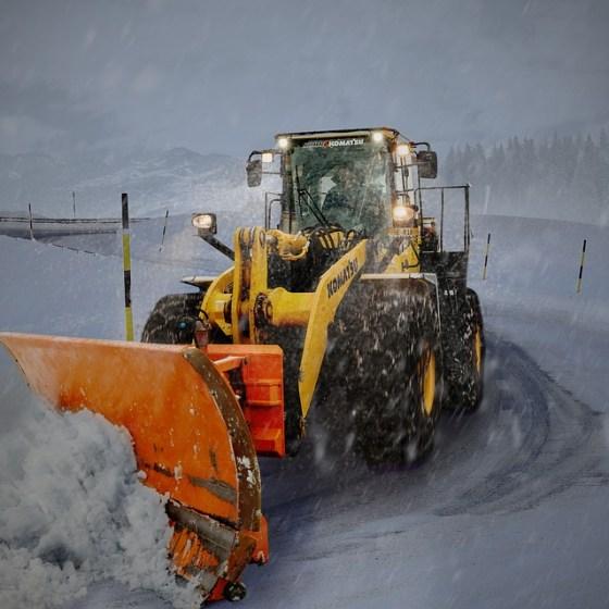 snow shovelling business